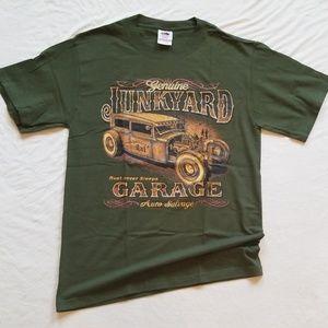 Classic Car Tshirt Genuine Junkyard Men's Tee